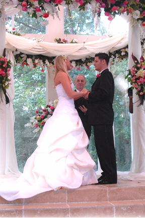 The Great Day Wedding Of Sara And Jimmy Youmans Was Televised At Ashton Gardens On Houston